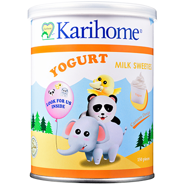 Karihome Milk Sweeties Yogurt flavour
