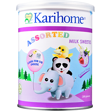 Karihome Milk Sweeties Assorted flavour