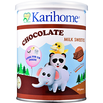 Karihome Milk Sweeties Chocolate flavour